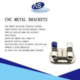 CNC de Orthodontische Steunen van het Metaal