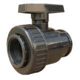 Шариковый клапан соединения PVC ANSI JIS BS DIN стандартный одиночный