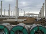 Oficina estrutural de aço pré-fabricada bonita para a fábrica
