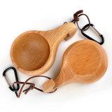Usine de bois de couleur naturelle Kuksa coupe de bois
