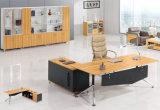 Schwarzer moderner Holz 2 Seater Schreibtisch-Arbeitsplatz