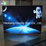 Signe de DEL pour l'étalage de cadre léger d'affiche de film
