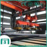 작업장 기계장치 QC 유형 두 배 대들보 자석 기중기