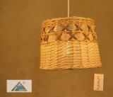 Luz pendente pendurada em cesta de vime para Home Deco (C5006150-2)