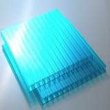 온실을%s 착색하는 투명한 폴리탄산염 Twinwall 빈 장