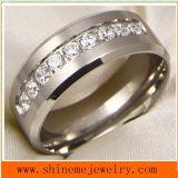 Anillo Titanium de Jewellry de la carrocería de la alta calidad de la joyería de Shineme (TR1851)