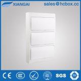 Caja de distribución de plástico gabinete plástico cuadro Panel Hc-Tsw 36formas
