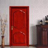 Type avant d'acajou de porte intérieure de Prehung en bois solide (GSP2-026)