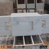 Meilleur comptoir en pierre à quartz artificiel de qualité supérieure, haut de vanité 0713