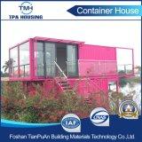 Casa modular modificada para requisitos particulares 2 suelos del envase de la talla en el diseño casero