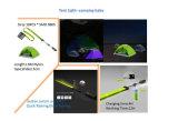 Het LEIDENE Kamperen van de Lantaarn Lichte Koord van de Batterij USB van Lichten het Draagbare Waterdichte Navulbare voor Kampeerauto's tent-Tl1