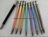 Le doigt en métal d'amusement décompriment le crayon lecteur, bon cadeau pensent le jouet de crayon lecteur de bille de personne remuante d'encre
