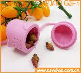 Matériau respectueux de l'environnement de tamis de thé d'Infuser de thé de silicones de Rose