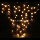 Color blanco caliente del LED decorativo carámbano Luz