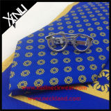 Cravate 100% soie imprimée avec écharpe assortie