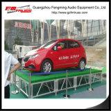 Estructura de aluminio portable de la etapa para el acontecimiento del funcionamiento