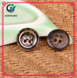 Кнопка шинели рубашки кнопки смолаы Brown хорошего качества