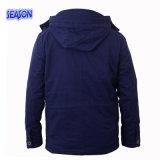 Одежды работы Workwear вскользь износа куртки зимы сини военно-морского флота вскользь проложенные пальто