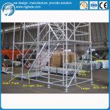 Stahlgestell-Aufbau Kwikstage Baugerüst