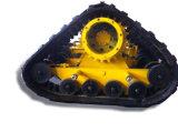 Type de support chenille de piste pour la roue avant d'entraîneur
