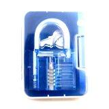 زرقاء شفّافة ممارسة قفل مع زرقاء يطوي سكّين [لوكبيكينغ] أدوات ([كمبو] 5-1)