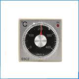 0-399c 220V K Type Thermocouple Guide d'entrée Type de rail Contrôleur de température E5c2, contrôleur Pid, thermomètre