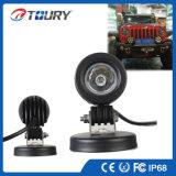 Automóvil de iluminación LED de lámpara del proyector del trabajo del LED 10W para Jeep