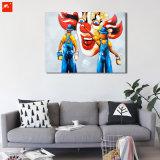 Set Top Funny Clowns pared de la calle cuadro de pintura al óleo