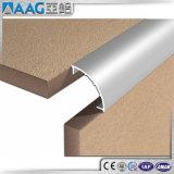 Aduana de la esquina de aluminio del ángulo de ajuste del azulejo