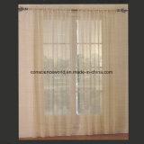 панель занавеса окна 100%Polyester вышитая отвесная с Scalloped дном
