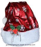 大人のための熱い押す布によって印刷されるSnowflowerのクリスマスの帽子