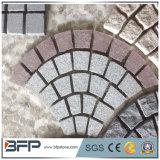 Pietra naturale del ciottolo del granito G654 per la pavimentazione esterna