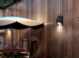 Luz solar da noite do sensor da parede do diodo emissor de luz do jardim solar direto da fábrica