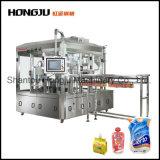 Máquina de relleno y que capsula del puré de la fruta de los alimentos para niños para la bolsa del canalón