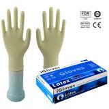 Prezzo competitivo e guanti a gettare del lattice di buon servizio