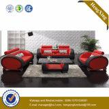 Canapé d'office de salon en cuir de bureau moderne (HX-SN045)