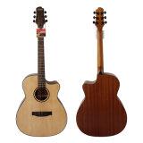 Торговая марка Aiersi ручной работы ООО/Om твердых акустическая гитара с отделкой из красного дерева (SG02SM-40)