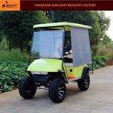 Veículo elétrico da caça de 4 passageiros para o clube de golfe (com máscara do sol)