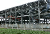 Costruzione prefabbricata veloce durevole del gruppo di lavoro della struttura d'acciaio della costruzione