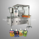 서 있는 주머니를 위한 알콜 음료 충전물 기계