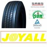 11r22.5 295/75r22.5 Joyall Marke aller Stahl-LKW-Gummireifen mit ECE-PUNKT