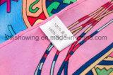 Sjaal van de Zijde van de Vrouwen van Costomize de Kleine Vierkante 100% Echte Digitale Afgedrukte