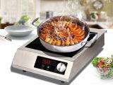 acier inoxydable ETL cuisinière induction commerciale pour les USA Espagne Italie Russie