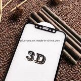 3D Gebogen Cel/de Mobiele Beschermer van het Scherm van het Glas van de Telefoon Toebehoren Aangemaakte met de Volledige Versie van de Lijm voor iPhone X