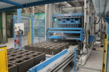 Bloco de cimento automático cheio que faz a linha de produção da máquina