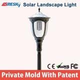 La meilleure lampe extérieure de vente de stationnement de lumières de lumière solaire d'horizontal du fournisseur célèbre de la Chine