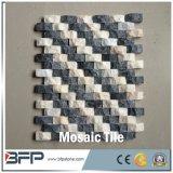 Mattonelle di mosaico di pietra di marmo poco costose di stile popolare per la decorazione della parete