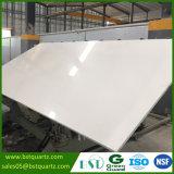 Lastra bianca pura della pietra del quarzo di prezzi di fabbrica grande