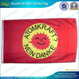 indicadores publicitarios de encargo de la bandera de los 90X150cm (NF01F06034)