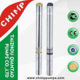 Chimp 4 polegadas de aço inoxidável de alta pressão 1,0 HP Deep Well Sumberável bomba de água